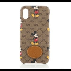 GG Mickey Mouse style iPhone X/Xs case NEW